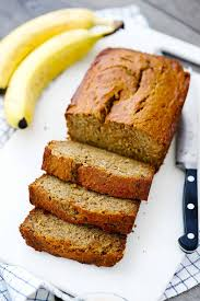 Ultra-Moist Healthy Banana Bread (made with Olive Oil) - Bowl of ...